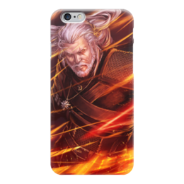 "Чехол для iPhone 6 ""Ведьмак"" - ведьмак, witcher, wild hunt, geralt of rivia, white wolf"