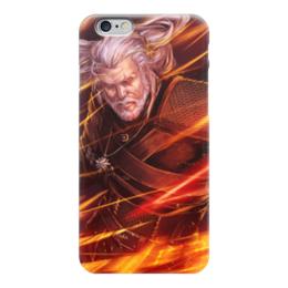 "Чехол для iPhone 6 ""Ведьмак"" - ведьмак, witcher, wild hunt, geralt of rivia, white wolf"
