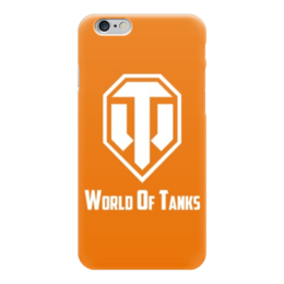 "Чехол для iPhone 6 глянцевый ""world of tanks"" - world of tanks, танки, tanks, wot, игры"