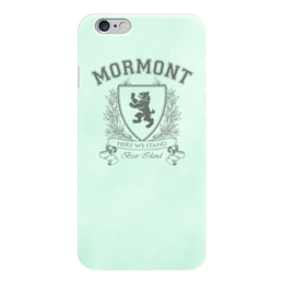 "Чехол для iPhone 6 ""Игра Престолов. Дом Мормонтов"" - игра престолов, game of thrones, мормонт, house mormont, дом мормонтов"
