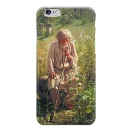"Чехол для iPhone 6 ""Пасечник (картина Крамского)"" - картина, крамской"