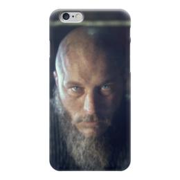 """Чехол для iPhone 6 глянцевый """"Рагнар"""" - история, викинги, путь воина, рагнар, сериал викинги"""