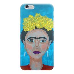 """Чехол для iPhone 6 глянцевый """"Фрида Кало"""" - фрида кало, frida kahlo"""