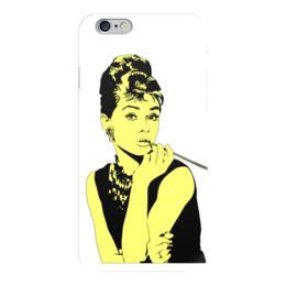 "Чехол для iPhone 6 ""Леди Хепбёрн"" - классика, светлый, леди, одри хепберн"