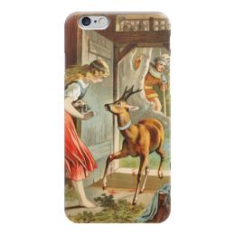 """Чехол для iPhone 6 """"Братец и сестрица (сказка братьев Гримм)"""" - картина, лёйтеманн"""