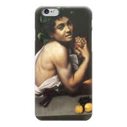 """Чехол для iPhone 6 """"Больной Вакх (Караваджо)"""" - картина, караваджо"""