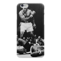 "Чехол для iPhone 6 глянцевый ""Мохаммед Али (Muhammad Ali)"" - мохаммед али, muhammad ali"