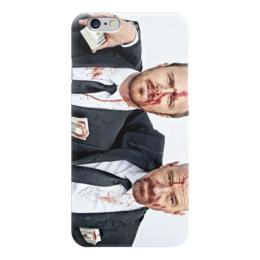 """Чехол для iPhone 6 глянцевый """"во все тяжкие"""" - во все тяжкие, сериалы, фильмы, хайзенберг, breaking bad"""
