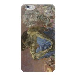"Чехол для iPhone 6 ""Демон сидящий"" - картина, врубель"