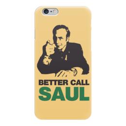 "Чехол для iPhone 6 ""Better Call Saul"" - breaking bad, saul goodman, better call saul, лучше звоните солу"