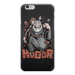 "Чехол для iPhone 6 глянцевый ""Hodor (Game of Thrones)"" - stark, hodor, ходор, game of thrones, игра престолов"