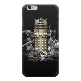 "Чехол для iPhone 6 глянцевый ""Далеки (Доктор Кто)"" - далеки, daleks, доктор кто, doctor who"