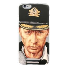 "Чехол для iPhone 6 ""Путин"" - россия, патриотизм, путин, президент, putin"
