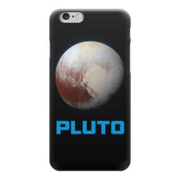 "Чехол для iPhone 6 глянцевый ""Pluto"" - космос, плутон, вселенная, thespaceway, space"