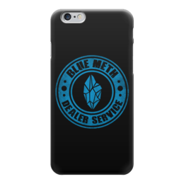 "Чехол для iPhone 6 ""Blue Meth (Breaking Bad)"" - во все тяжкие, breaking bad, хайзенберг, гайзенберг, голубой мет"