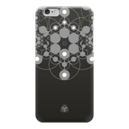 "Чехол для iPhone 6 ""Молекула Духа "" - черный, фрактал, молекула, ethica, marinanaber"