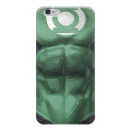 "Чехол для iPhone 6 ""Зеленый фонарь"" - комиксы, dc, зеленый фонарь, green lantern, dc comics"