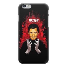 """Чехол для iPhone 6 глянцевый """"Dexter"""" - dexter, декстер, кино, сериал"""