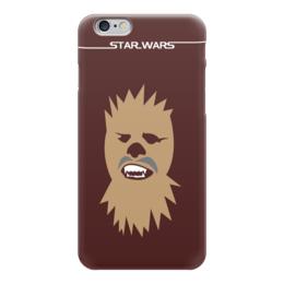 "Чехол для iPhone 6 ""Чубакка (Chewbacca)"" - star wars, звездные войны, хан соло, чубакка, чуи"