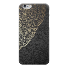 "Чехол для iPhone 6 ""Кружева"" - дизайн, абстракция, иллюстрация, кружева"