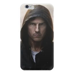 "Чехол для iPhone 6 глянцевый ""Том Круз"" - круз, миссия невыполнима, том круз, mission impossible"