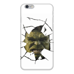 "Чехол для iPhone 6 глянцевый ""Hulk / Халк"" - hulk, marvel, мстители, халк, kinoart"
