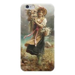 "Чехол для iPhone 6 ""Цветочница"" - картина, зацка"