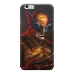 """Чехол для iPhone 6 """"Росомаха"""" - комиксы, марвел, wolverine, логан"""