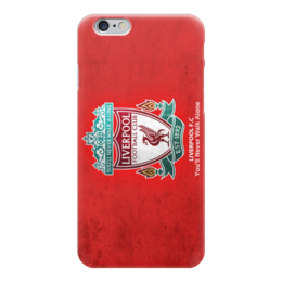 "Чехол для iPhone 6 глянцевый ""Ливерпуль (Liverpool)"" - футбол, football, ливерпуль, liverpool"