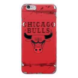 "Чехол для iPhone 6 глянцевый ""Chicago Bulls"" - баскетбол, chicago bulls, нба, чикаго буллз"
