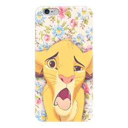 """Чехол для iPhone 6 """"Мое настроение"""" - мем, цветы, лев"""