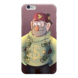 """Чехол для iPhone 6 """"Гравити Фолз"""" - деньги, gravity falls, стэн, гравити фолз, пайнс"""