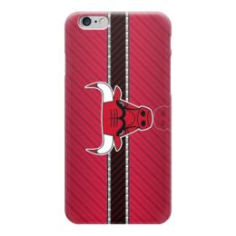 "Чехол для iPhone 6 ""Чикаго Буллз (Chicago Bulls)"" - nba, нба, бык, чикаго буллз"