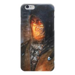 "Чехол для iPhone 6 ""Mortal Kombat (Scorpion)"" - 78-12, 24&62"