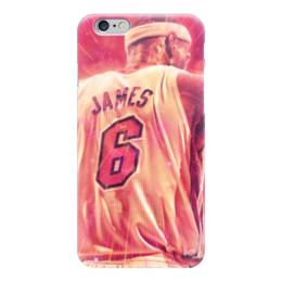 """Чехол для iPhone 6 """"Леброн Джеймс (Кливленд Кавальерс)"""" - nba, нба, lebron james, леброн джеймс"""