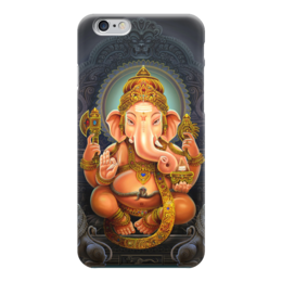 """Чехол для iPhone 6 """"Ganesha"""" - религия, ганеша, шива, индуистские божества"""