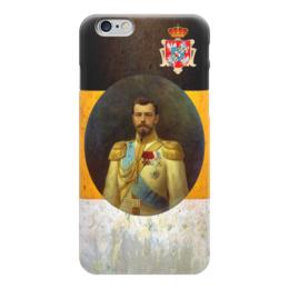 """Чехол для iPhone 6 """"Последний император России"""" - царь, россия, империя, романовы, император"""