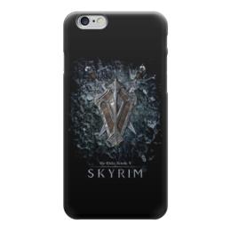 """Чехол для iPhone 6 """"Skyrim"""" - фэнтези, skyrim, меч, скайрим, щит"""
