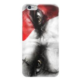 "Чехол для iPhone 6 ""Кратос (Бог Войны)"" - глаза, кратос, god of war, бог войны"