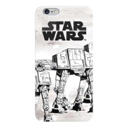 """Чехол для iPhone 6 глянцевый """"Star wars"""" - арт, darth vader, звездные войны, дарт вейдер, star wars"""