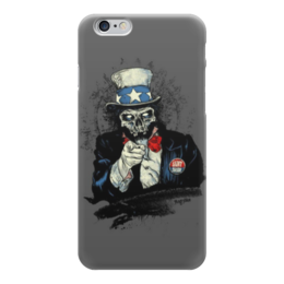 "Чехол для iPhone 6 ""Uncle Sam"" - америка, usa, america, uncle sam, дядя сэм"