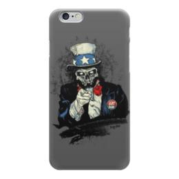 """Чехол для iPhone 6 глянцевый """"Uncle Sam"""" - дядя сэм, uncle sam, usa, america, америка"""