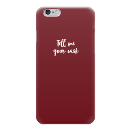 "Чехол для iPhone 6 глянцевый ""Tell me your wish"" - 14 февраля, для девочек, для дома, желания"