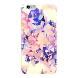 """Чехол для iPhone 6 """"Аврора"""" - оранжевый, фиолетовый, розовый, синий"""