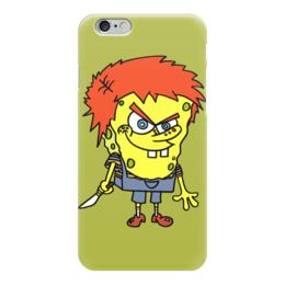 """Чехол для iPhone 6 глянцевый """"Chucky Killer"""" - убийца, чаки, chucky, спанч боб"""