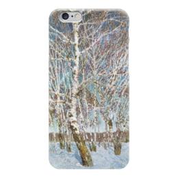 """Чехол для iPhone 6 """"Февральская лазурь"""" - картина, грабарь"""