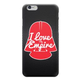 """Чехол для iPhone 6 глянцевый """"I Love The Empire (Star Wars)"""" - darth vader, дарт вейдер, звёздные войны"""