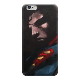 "Чехол для iPhone 6 ""Супермен (Superman)"" - superman, супермэн, dc, dc comics, супс"