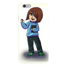 """Чехол для iPhone 6 """"Художник"""" - арт, рисунок, аниме, художник, чиби"""