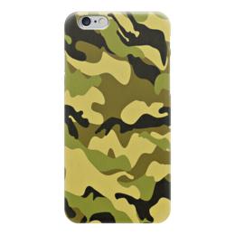 """Чехол для iPhone 6 """"Мультицвет Камуфляж"""" - армия, камуфляж, camouflage, военный, мультицвет камуфляж"""